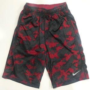 Boys Nike Dri-Fit Digi-Camo Shorts Sz Small EUC